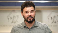 Gabriel Rufián. (Foto: EFE)