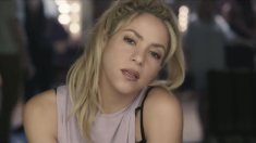 La cantante colombiana en un videoglip de su último disco, 'El dorado'