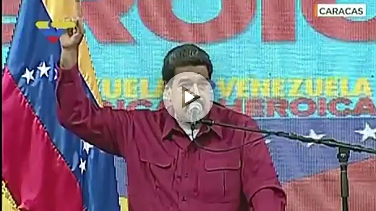 Comparecencia de Nicolás Maduro