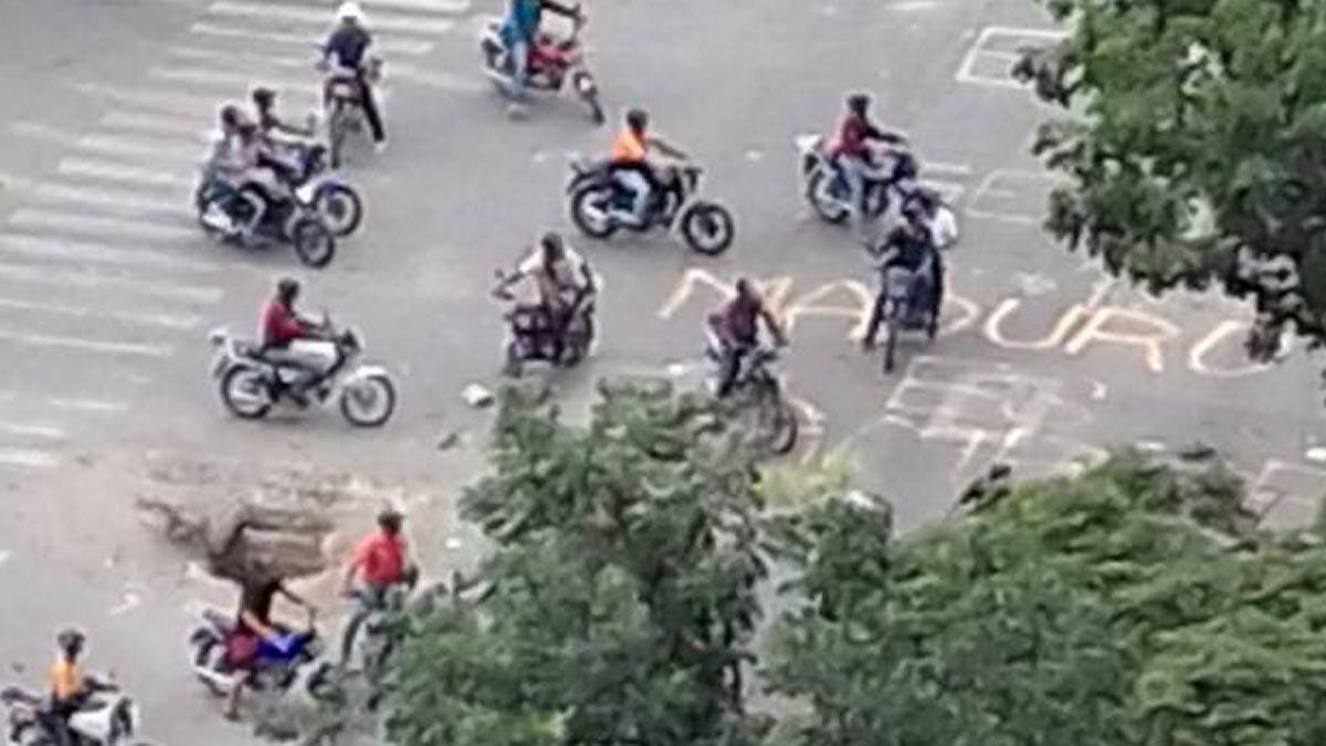 motorizados-chavistas