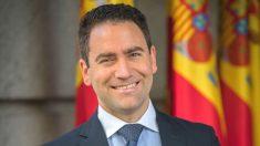 El portavoz adjunto del PP en el Congreso, Teodoro García (Foto: Twitter)