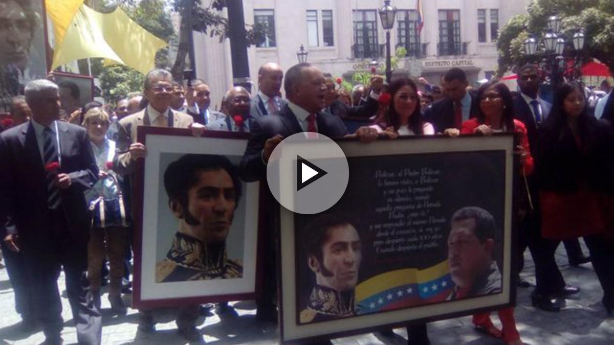 El chavismo toma la Asamblea