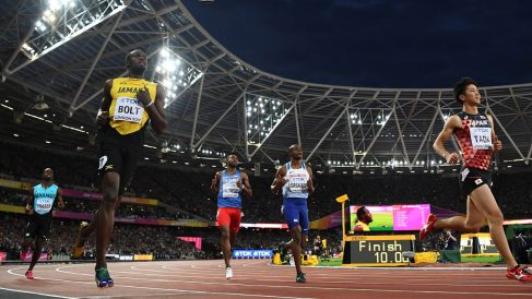 Usain Bolt (AFP)