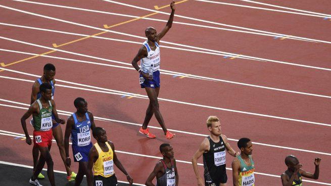 Mo Farah vuelve a reinar en Londres ganando al sprint los 10.000 metros