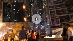 El rascacielos 'La Antrocha' en Dubai sufre otro incendio. Foto: AFP