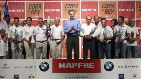 Felipe VI en la entrega de premios de la Copa del Rey (Foto: EFE)