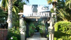 Fachada del restaurante del hotel 100% Fun de Tarifa.