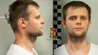 El polaco detenido.