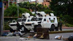 Guardia Nacional Bolivariana (Foto: AFP)