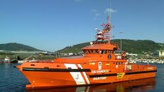 La embarcación de Salvamento Marítimo 'Guardamar Concepcion Arenal'.