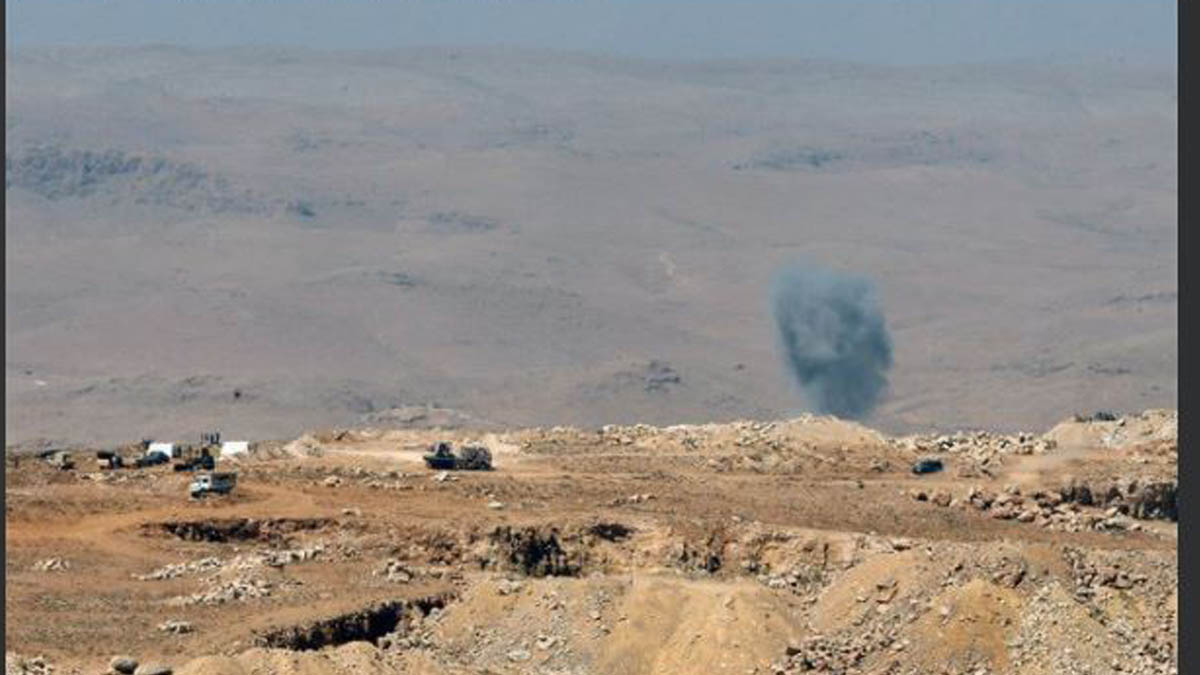 Cohetes del ISIS sobre Líbano.