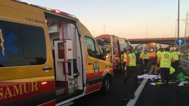 Un muerto y dos heridos en un accidente entre cuatro motos en Villanueva del Río y Minas (Sevilla)
