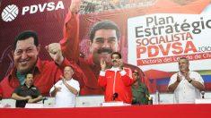 Nicolás Maduro en un acto de PDVSA en 2016 (Foto. Flickr)