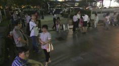 Ciudadanos afectados por el terremoto en la provincia china de Shanxi (Foto: AFP)