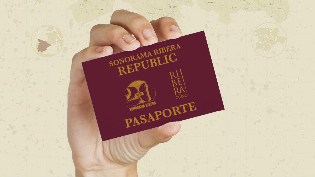 Pasaporte de la REpública de Sonorama Ribera
