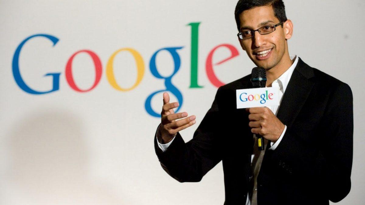 Sundar Pichai, director ejecutivo de Google (Foto. Google)