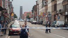 La policía belga ha cercado el barrio de Molenbeek, en Bruselas.
