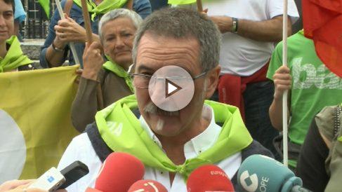 Txutxi Ariznabarreta, portavoz de la red vasca Independentistak.