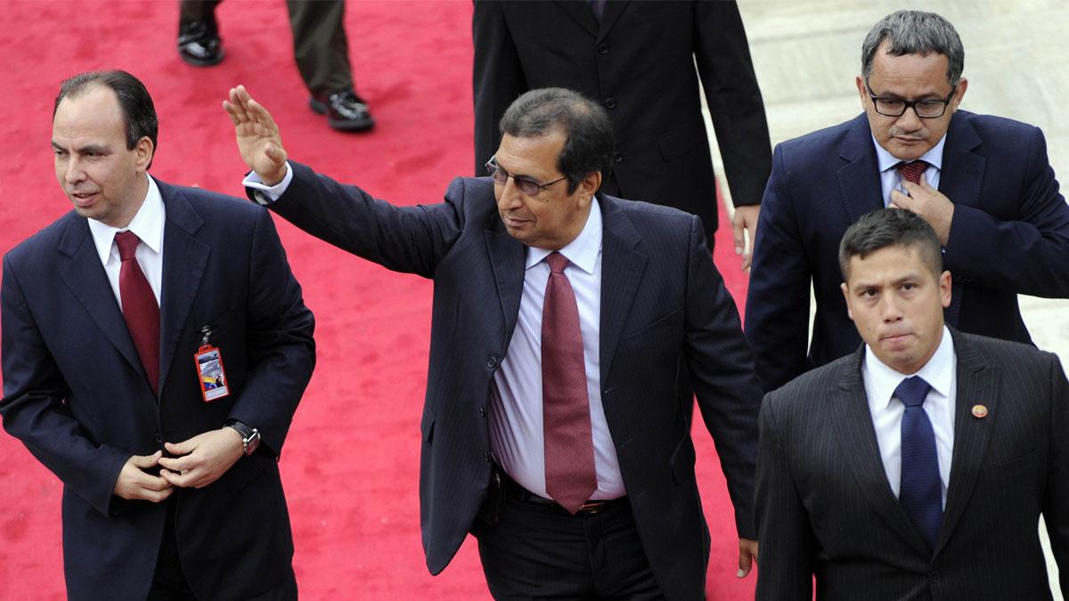 Adan Chávez, hermano del dictador venezolano (Foto: AFP)