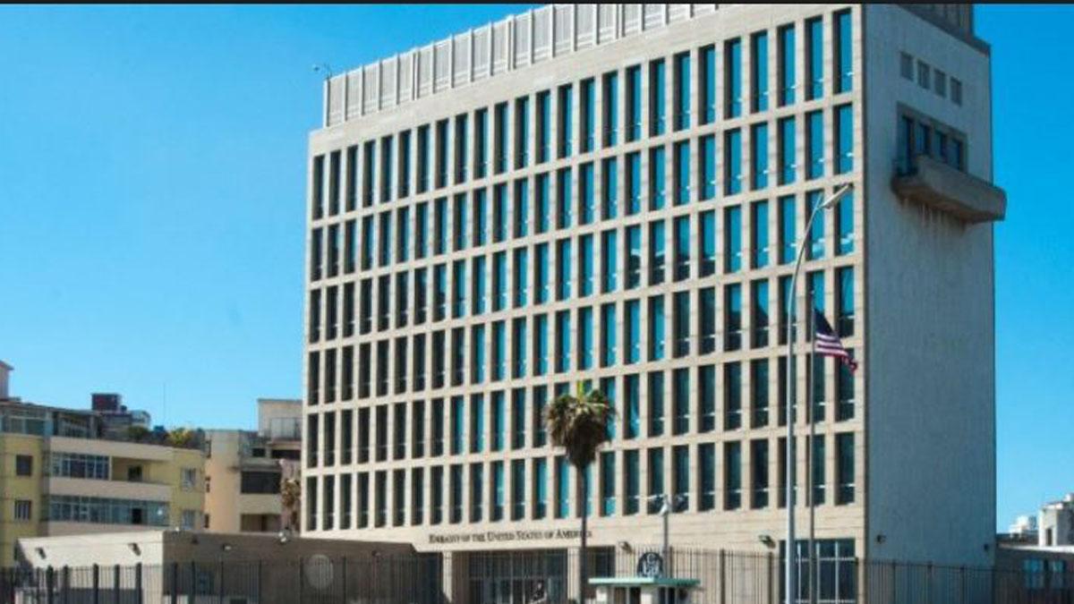 Embajada de Estados Unidos en La Habana.