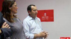 José Luis Ruiz Espejo, candidato a la secreatría general del PSOE en Málaga