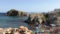 Playa de la Isleta del Moro, en Nijar (Almería).