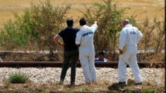 Los carabinieri analizan la escena del tiroteo en Italia.