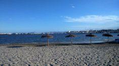 Playa de Lo Pagán, en San Pedro del Pinatar (Murcia).