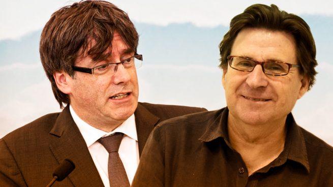 El presidente de la ANA Altamirano y carles Puigdemont
