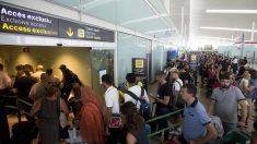 El aeropuerto de Barcelona. (FOTO: EFE)