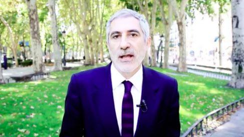 El ex diputado de IU, Gaspar Llamazares. (Foto: Youtube)