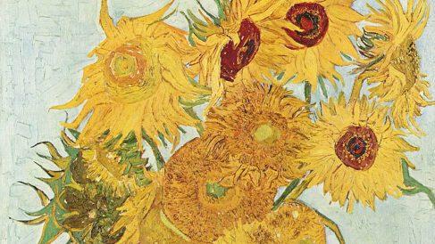'Los girasoles' de Van Gogh.