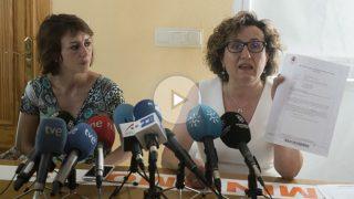 Juana Rivas con su abogada (Imagen: EFE)