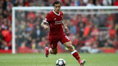 Coutinho, en un encuentro con el Liverpool. (Getty)