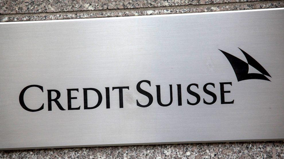 Oficina de Credit Suisse en Nueva York. (Foto: Getty)