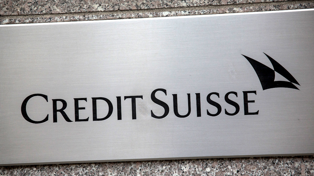 Oficina de Credit Suisse en Nueva York. (Foto: Getty)