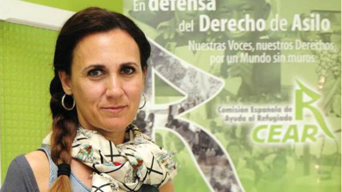 Estrella Galan, secretaria general de CEAR.