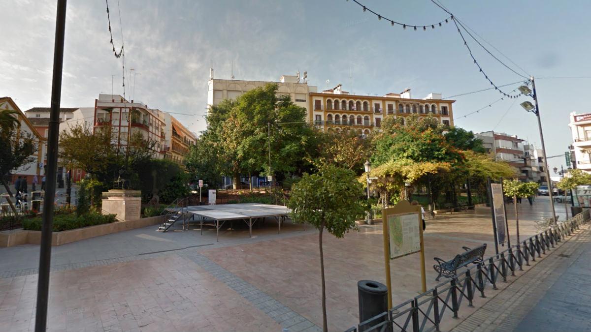 Puente Genil (Córdoba), donde se produjeron algunos de los robos del vecino ahora detenido.