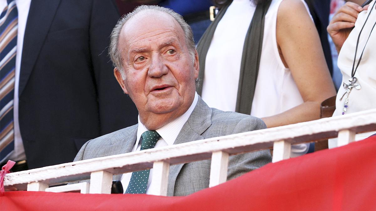 El Rey emérito Juan Carlos I (Foto: AFP).