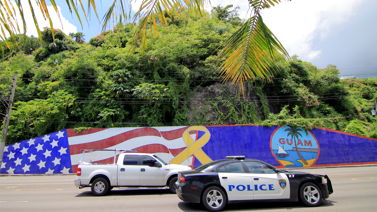 Isla de Guam. (Foto: AFP)