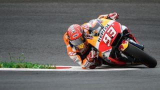 Marc Márquez logró la pole en Austria. (AFP)