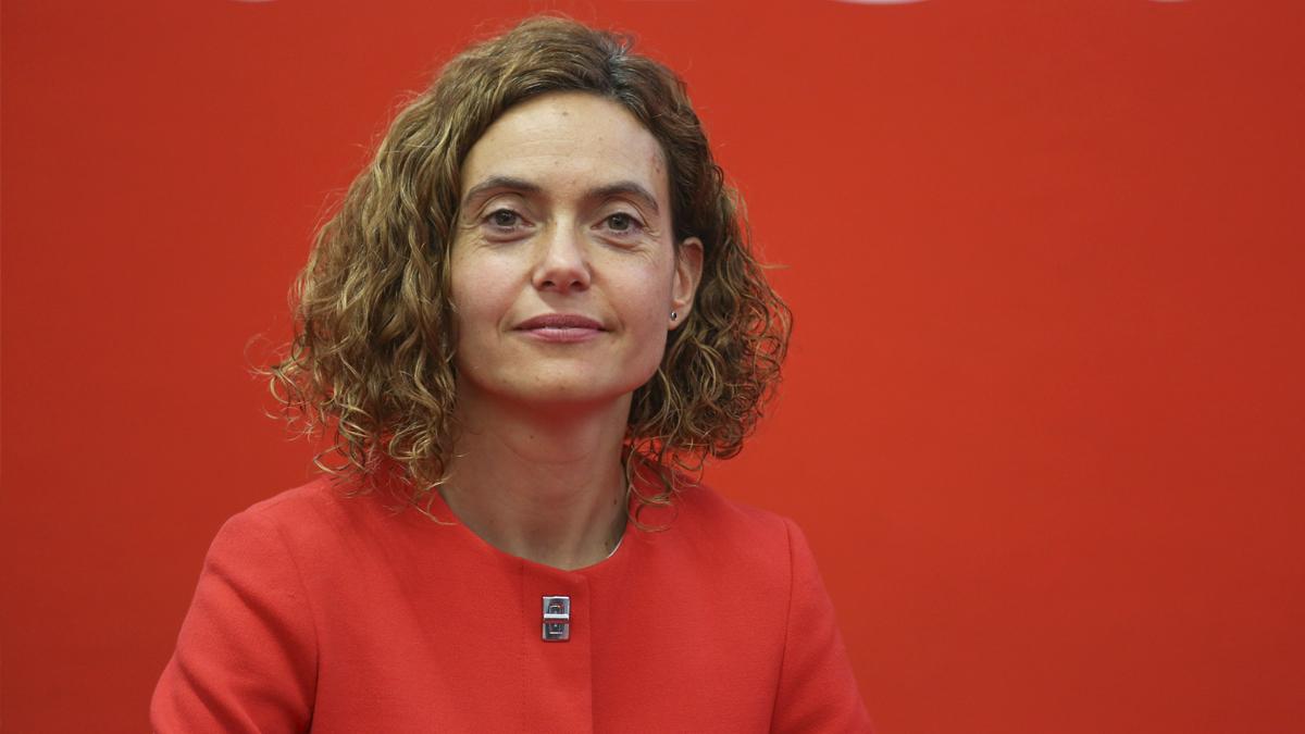 La ministra de Política Territorial y Función Pública, Meritxell Batet. (Foto: PSC)