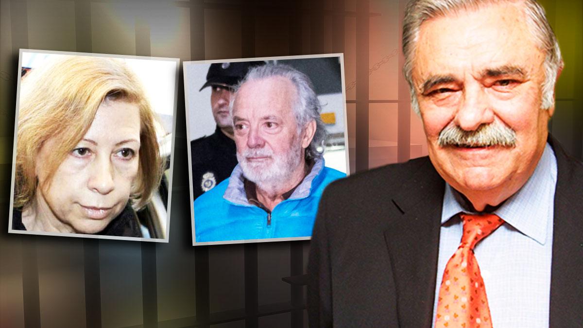 La ex presidenta María Antonia Munar, el capo de la mafia Tolo Cursach y el editor Pedro Serra.