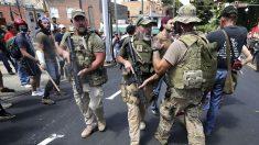 Supremacistas blancos en Charlottesville (Foto: AFP)