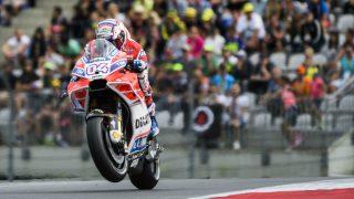 Dovizioso, en el Gran Premio de Austria. (AFP)