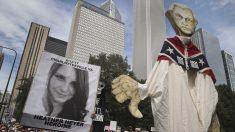 Recuerdo a la chica asesinada en Charlottesville (Foto: AFP)
