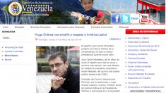 La Embajada de Venezuela en Madrid difunde en su web la entrevista en la que Maduro admite que asesoró a Chávez durante nueve años.