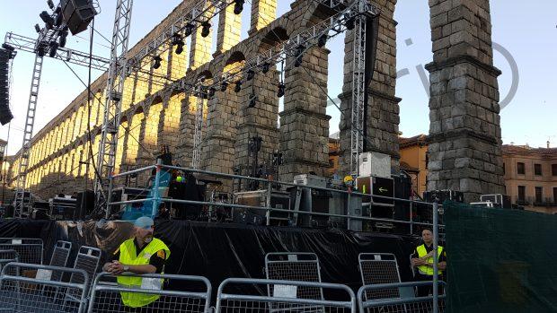 El acueducto de Segovia se cae a pedazos: el PSOE maltrata esta infraestructura milenaria