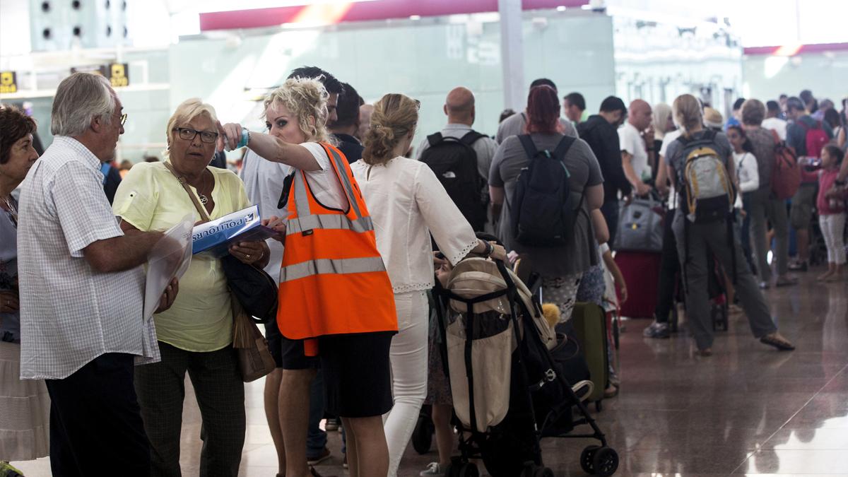 Aeropuerto de Barcelona-El Prat. (Foto: EFE)
