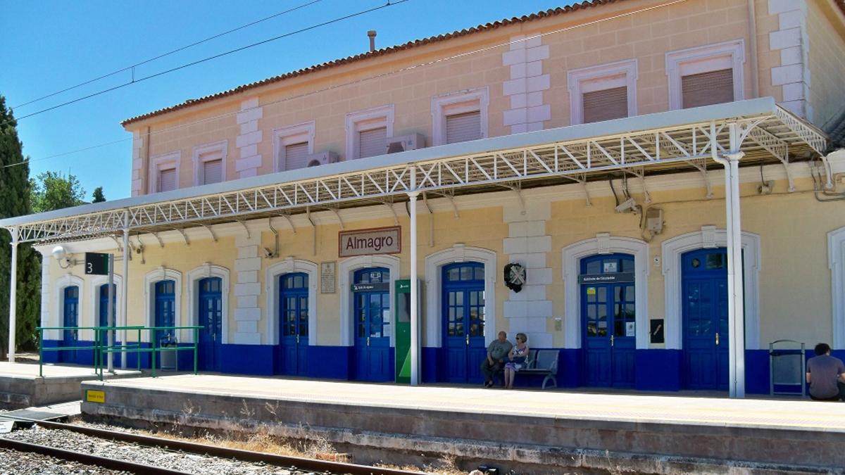 Estación de tren de Almagro.